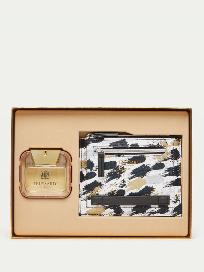 Trussardi My Land Perfume and Document Holder Set TRUSSARDI