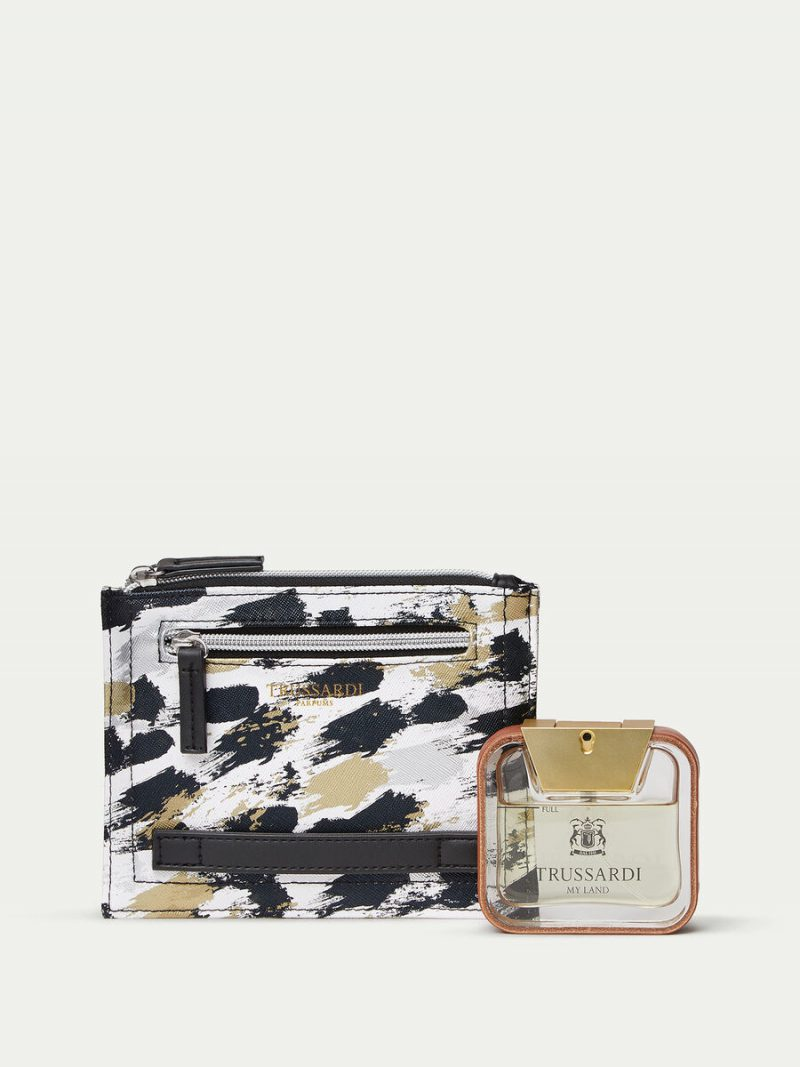 Trussardi My Land Perfume and Document Holder Set TRUSSARDIF