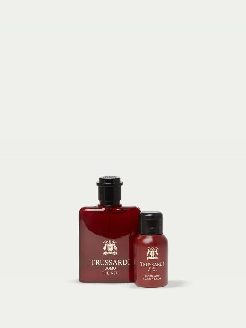 Trussardi Uomo The Red Perfume and Beard Soap Set TRUSSARDI 50 L